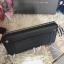 กระเป๋าสตางค์ใบยาว Charles & Keith Studded Front Pocket Wallet สีดำ ราคา 990 บาท Free Ems thumbnail 5