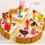 ของเล่นไม้ เซตตกแต่งหน้าเค้ก Wooden Decoration Cake Set by Mother Garden thumbnail 6