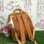 กระเป๋าเป้ Anello Polyester Canvas Rucksack Classic สีขาว- วัสดุผ้าแคนวาสอย่างดี รุ่นคลาสสิกพิเศษมีซิปด้านหลัง thumbnail 3
