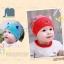 หมวกเด็กอ่อน ผ้ายืด Cotton รูปแมวเหมียว สำหรับเด็ก 3-24 เดือน thumbnail 4