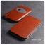 เคส ASUS Zenfone ZOOM (เฉพาะ ZX550ML เท่านั้น) เคสหนัง + แผ่นเหล็กป้องกันตัวเครื่อง (บางพิเศษ) สีน้ำตาล thumbnail 1