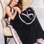 ผ้าห่ม Victoria's Secret Blankets Premium Gift ลายดำชมพู thumbnail 2