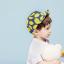 หมวกแก๊ป หมวกเด็กแบบมีปีกด้านหน้า ลายเลม่อน (มี 2 สี) thumbnail 3