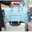 DINIWELL กระเป๋าเดินทางพับเก็บได้ อเนกประสงค์ เพื่อการเดินทาง ท่องเที่ยว ปรับสายสะพายได้ เสียบที่จับของกระเป๋าเดินทางได้ น้ำหนักเบา มีซิปรูดตอนพับเก็บ thumbnail 1