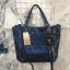 กระเป๋าสะพาย David Jones Metallic Deep Blue ราคา 1,690 บาท Free ems thumbnail 7