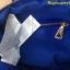 กระเป๋า MANGO NYLON HANDBAG น้ำเงิน กระเป๋าผ้าไนล่อนเนื้อดีและหนา ทรงหมอน มาพร้อมสายสะพายยาว thumbnail 6