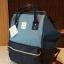กระเป๋า Anello DENIM MULTI Rucksack (Classic / STD) กระเป๋าเป้แบรนด์ดังจากญี่ปุ่นสุดฮิตจนฉุดไม่อยู่ รุ่นนี้วัสดุ CANVAS DENIM Fabric เนื้อยีนส์หนานิ่มคุณภาพดีดีไซน์สวยเก๋ คงความโดดเด่นที่ดีไซน์ปากกระเป๋ามีโครงทำให้ตัวกระเป๋าเป็นทรงสวย เปิดได้กว thumbnail 2