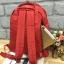 กระเป๋า Anello rucksack nylon day pack back 2017 Red ราคา 1,290 บาท Free Ems thumbnail 3