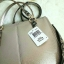 Coach F55515 MINI CHRISTIE CARRYALL IN METALLIC LEATHER WITH EXOTIC TRIM แท้ thumbnail 4