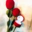 กล่องใส่แหวนดอกกุหลาบ < พร้อมส่ง > thumbnail 2