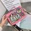 กระเป๋าสะพาย สีชมพู JTXS bag made in Hong Kong 2017...งานแท้นะคะ thumbnail 4