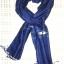 ผ้าพันคอย้อมครามทอมือ Premium Gift *สินค้า Handmade 100% ราคา 490 บาท(Ems +70) Bagshopweb.com thumbnail 2