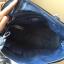 กระเป๋า Carpisa แบรนด์ดังจากอิตาลี สี NAVY หนัง saffiano เรียบหรูดูดี ทรงสุดฮอต ใบใหญ่ thumbnail 6