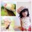 หมวกปีกสาน สไตล์เกาหลี ประดับดอกไม้ผ้าสวยหวานน่ารัก thumbnail 2