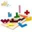 ของเล่นตัวต่อไม้ปริศนา มีที่กั้นระดับความยาก Pentomino Russian Block thumbnail 2