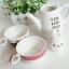 ชุดกาน้ำพร้อมแก้ว Tea for two <พร้อมส่ง> thumbnail 6