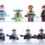 ชุดมินิเลโก้ฟิกเกอร์ Starwars The Clone Wars set2 thumbnail 3