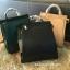 กระเป๋า CHARLES & KEITH TOP HANDLE BAG สีเขียว กระเป๋าถือหรือสะพายรุ่นใหม่ล่าสุดแบบชนช็อป thumbnail 4