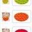 แผ่นซิลิโคนกันลื่น ดูดติดก้นจานชามเด็ก Orange Baby Bowl Sticka thumbnail 3