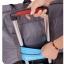 กระเป๋าเดินทางพับเก็บได้ เพื่อการเดินทาง ท่องเที่ยว ปรับสายสะพายได้ เสียบที่จับของกระเป๋าเดินทางได้ มีซิปรูดตอนพับเก็บ thumbnail 4