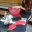 กระเป๋า Amory Leather Everyday Tote Bag สีแดง กระเป๋าหนังแท้ทั้งใบ 100% thumbnail 1