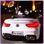 รถแบตเตอรี่เด็ก BMW M6 สีขาว 2 มอเตอร์เปิดประตูได้ มีรีโมท หรือบังคับเองได้ thumbnail 5
