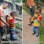 กางเกงยีนส์เด็กเล็ก ขายาว ลายอักษรจีนเท่ๆ ใส่สบาย วัย 6-30 เดือน thumbnail 2
