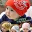 หมวกเด็กอ่อนเกาหลี ลายจักรยานติดปีก สำหรับเด็กวัย 3 - 24 เดือน thumbnail 1