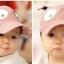 หมวกแคปเด็กอ่อน ปักรูปหน้าสัตว์ มีหูตั้ง น่ารัก ขนาด 6-18 เดือน thumbnail 11
