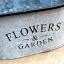 ถัง กระถางต้นไม้สังกะสีมีหูหิ้วเชือกปอ ลาย Flower & Garden thumbnail 15