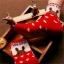 ถุงเท้าเด็กเล็ก หญิง 1-3 ปี มีกันลื่น พิมพ์ลายการ์ตูน แบรนด์ญี่ปุ่น thumbnail 5