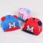 หมวกแก๊ป หมวกเด็กแบบมีปีกด้านหน้า ลาย M (มี 5 สี) thumbnail 4