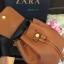 กระเป่า ZARA Detail Backpack สีน้ำตาล thumbnail 4