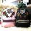ALDO Grawn Satin Backpack with Tiger & Rose Patches thumbnail 2