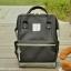 กระเป๋า ANELLO X PAGEBOY สีดำ Regular size สีใหม่ วัสดุ Polyester canvas สลับหนังกลับ ปากกระเป๋าเปิดปิดด้วยซิปคู่และม thumbnail 1
