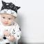 หมวกแก๊ป หมวกเด็กแบบมีปีกด้านหน้า ลาย CAT (มี 2 สี) thumbnail 4