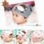 หมวกเด็กอ่อนเกาหลี ลายหมี สำหรับเด็กวัย 3 - 12 เดือน thumbnail 1
