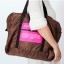 กระเป๋าเดินทางพับเก็บได้ เพื่อการเดินทาง ท่องเที่ยว ปรับสายสะพายได้ เสียบที่จับของกระเป๋าเดินทางได้ มีซิปรูดตอนพับเก็บ thumbnail 21