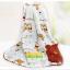 BK049••ผ้าห่มเด็ก•• / ตุ๊กตาหิมะ-เทา (ลายปัก) thumbnail 3