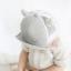 หมวกแก๊ป หมวกเด็กแบบมีปีกด้านหน้า ลายขนตา (มี 2 สี) thumbnail 4