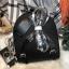 กระเป๋าสะพายเป้ ZARA Sturby Backpack With Zips 2017 สไตล์ PRADA สีดำ thumbnail 4