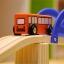 บล็อกไม้สร้างถนนและสวนหย่อม Rail Overpass Set 40 ชิ้น thumbnail 9