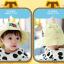 HT485••หมวกเด็ก•• / หมวกปีกกว้าง-DH (สีเหลือง) thumbnail 2