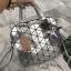 กระเป๋า David Jones Tote ตัวกระเป๋าเย็บติดด้วยแผ่นอคิลิค สีเงิน ราคา 1,590 บาท Free Ems thumbnail 5
