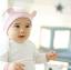 HT308••หมวกเด็ก•• / [สีชมพู] หมวกบีนนี่ทรงหูตั้ง thumbnail 2