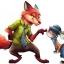 ตุ๊กตา zootopia judy hopps & nick wild thumbnail 8