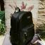 กระเป๋า MANGO TOUCH NYLON BACKPACK กระเป๋าสะพายทรงเป้รุ่นแนะนำจาก MNG OUTLET วัสดุ Nylon หนานิ่มตัดหนัง Saffiano สวย ทำความสะอาดง่าย สำเนา thumbnail 8
