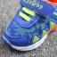 รองเท้าเด็กวัยหัดเดิน ทรง Sport คัทชูทรงเท่สีฟ้าส้ม (เท้ายาว 12-14 ซม.) thumbnail 4