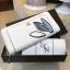 NEW! LYN Long Wallet กระเป๋าสตางค์ใบยาวซิปรอบรุ่นใหม่ล่าสุดวัสดุหนัง Saffiano สวยหรูสไตล์ PRADA ด้านหน้าประดับลายใบไม้ดูมีดีเทล thumbnail 6
