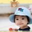 HT484••หมวกเด็ก•• / หมวกปีกกว้าง-DH (สีฟ้า) thumbnail 3